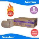 SunnyCare® ROLL TOWEL Brown 8″X 800′